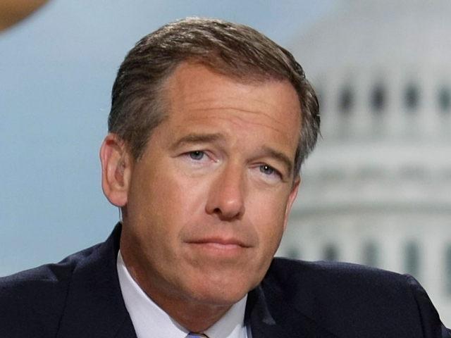 Brian Williams calls images of US missile launch 'beautiful'