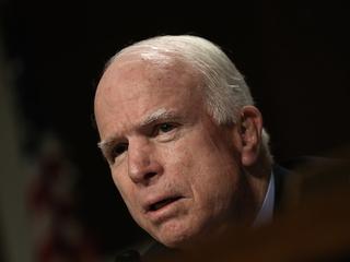 Trump warns McCain after Senator's speech