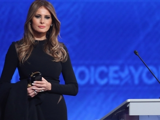 Why Melania Trump says she deleted her website