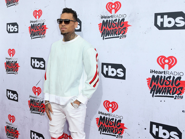 After lengthy stand-off with police, Chris Brown arrested