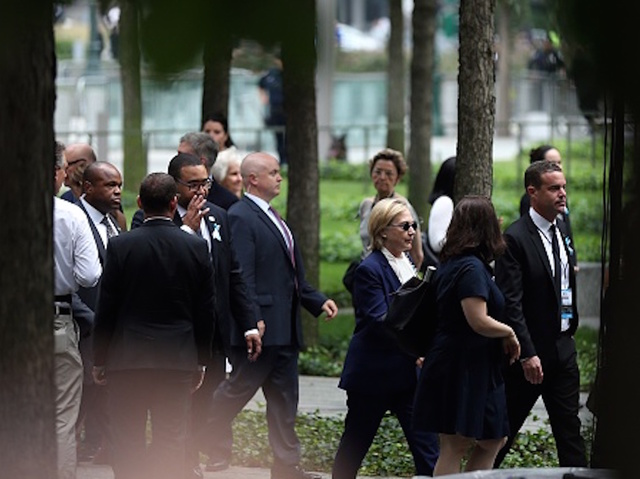 Clinton, Suffering From Pneumonia, Leaves 9/11 Event Early