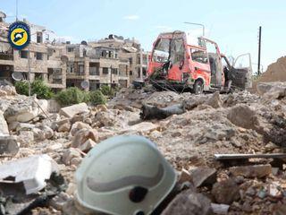 The Aleppo siege, as explained by a White Helmet