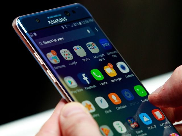 Samsung's Galaxy Note 7 is on the 'no-fly' list