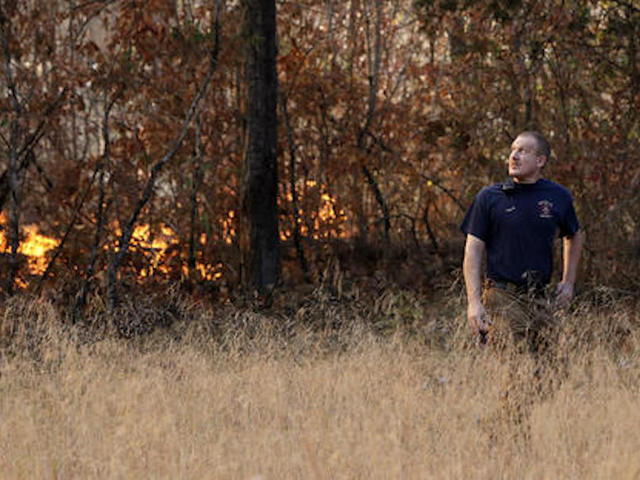 Dry, Windy Conditions Feed Wildfires Across the Southeast
