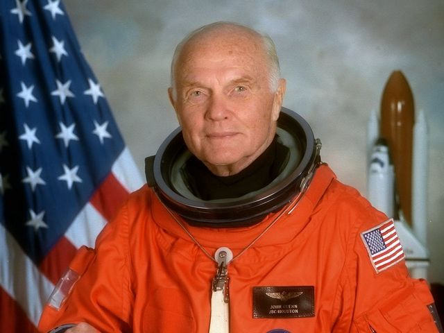 Former astronaut, US Sen. John Glenn is hospitalized in Ohio