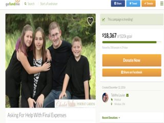 Mom raising money to pay for own funeral