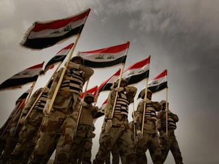 Iraqi air force takes the fight to ISIS in Syria