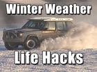 Life hacks to get you through winter's last week