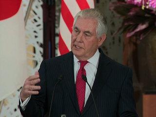 Tillerson talks tough on North Korea