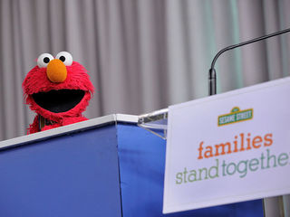 Video of Elmo getting laid off goes viral