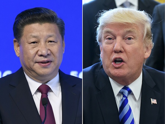 Trump, Xi meet again in shadow of missile strikes on Syria