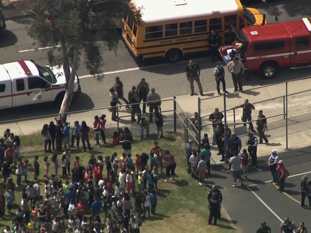 School shooting in San Bernardino California leaves 3 dead, 1 injured