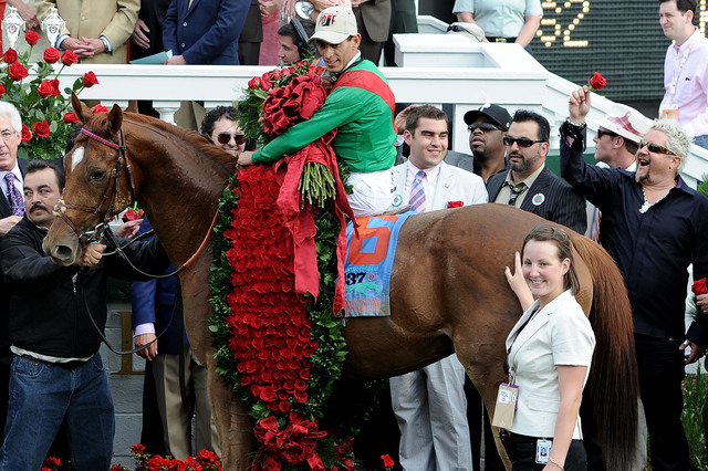 Half-blind Kentucky Derby horse named Patch has eye on roses
