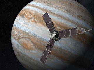 Juno's first data shows us a wild Jupiter