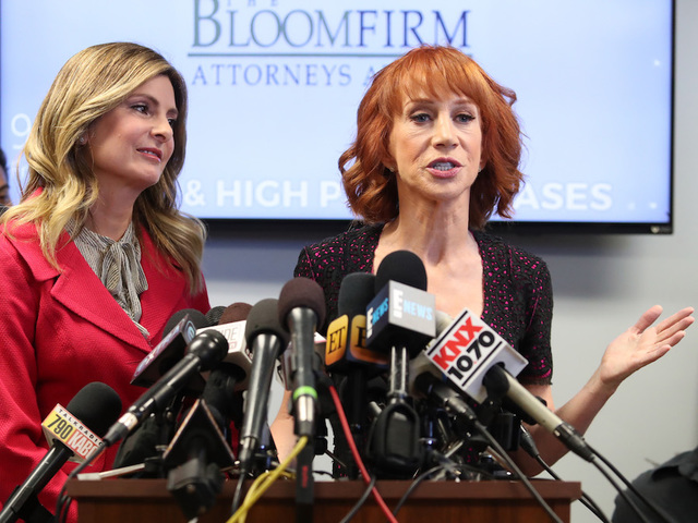 Kathy Griffin's last remaining tour date pulled after Trump stunt press conference