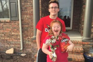 This Doritos-themed promposal going viral