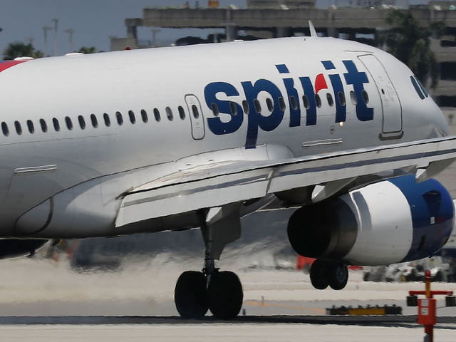 Baby born on Spirit plane given free flights for life