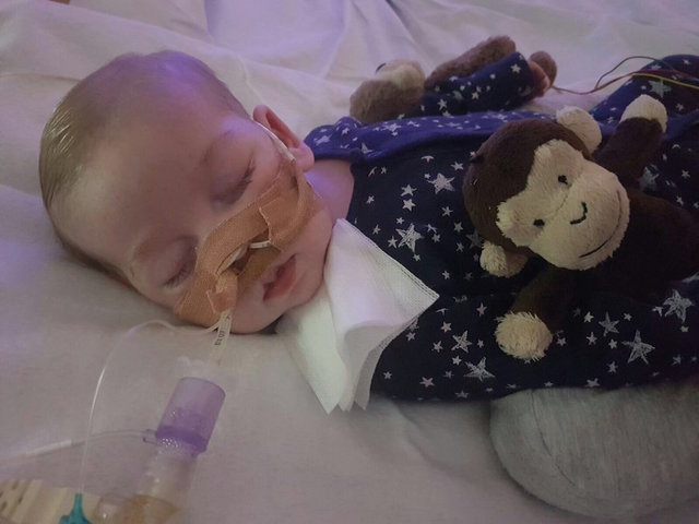Charlie Gard's parents told scans on him make for 'sad reading