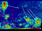 Three separate storms brewing in Atlantic