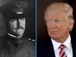 Trump pushes Pershing fiction