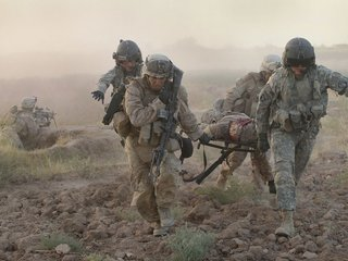US may not see major combat in Afghanistan