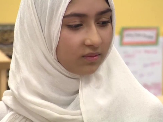 Schoolgirl's hijab cut in 'cowardly act of hatred'