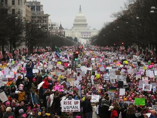 Women's March organizers eye 2018 elections
