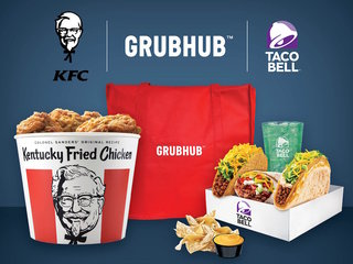 Grubhub will deliver KFC and Taco Bell