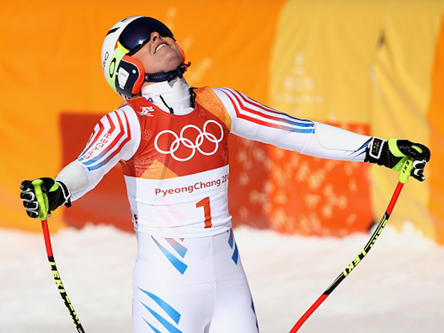 Pyeongchang is just full of surprises: Snowboarder becomes Olympic alpine skiing champ
