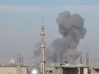 Regime airstrikes kill nearly 200 in Syria