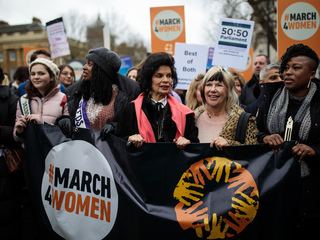Spain sees 'feminist strike' on Women's Day
