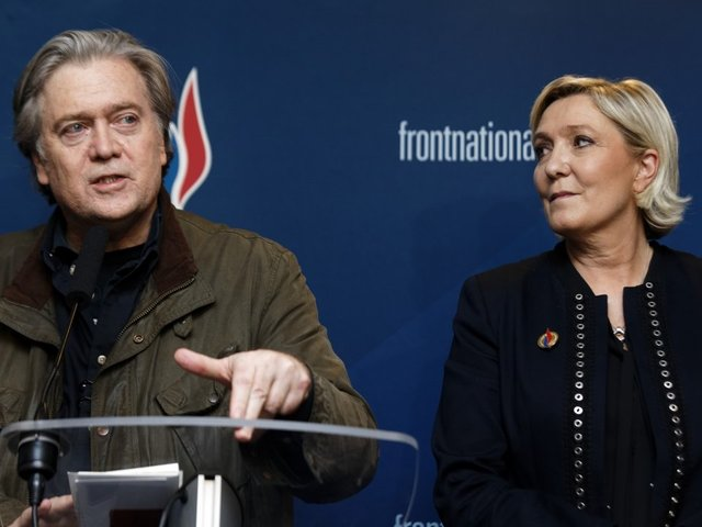 Show Must Go On: Steve Bannon Set to Address French National Front
