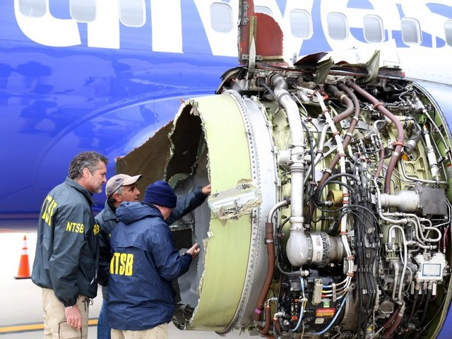 Southwest passengers on flight with deadly engine failure get money, travel vouchers