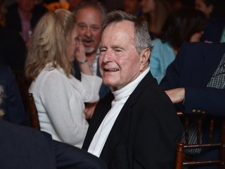 Former President George H. W. Bush out of ICU