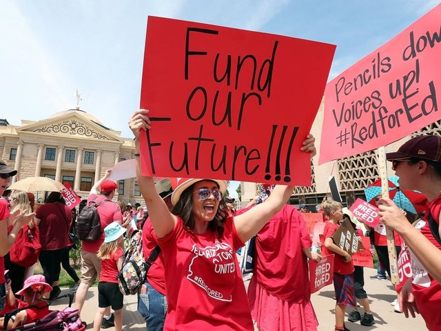 Arizona Gov. Ducey signs education funding and teacher pay bill
