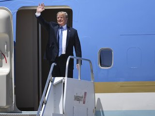 Trump campaigns for Dean Heller in Nevada