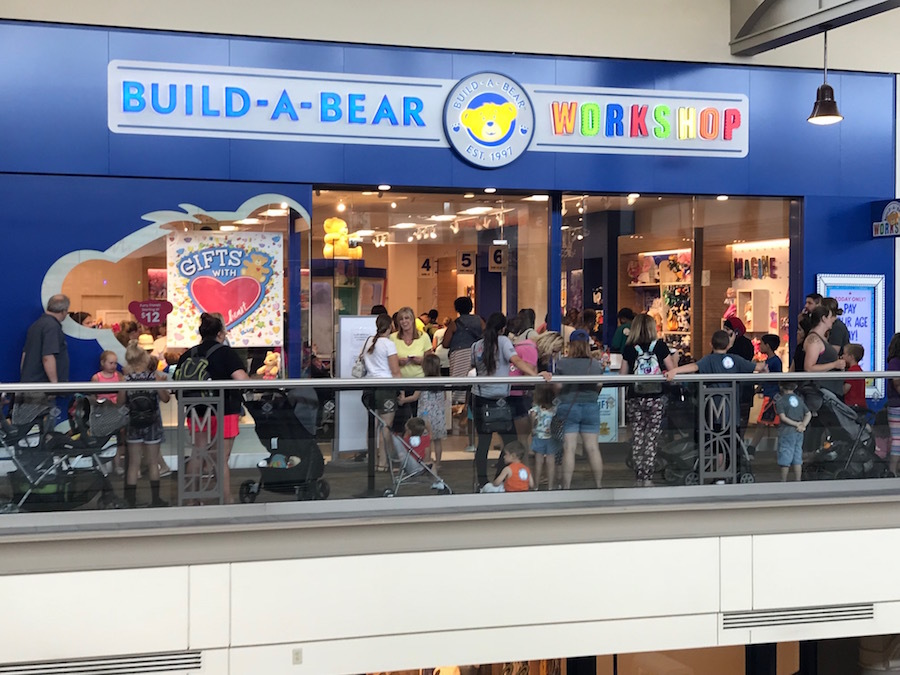 Build A Bear Workshop Fashion Valley Mall