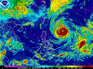 Typhoon Trami: Storm builds to super typhoon