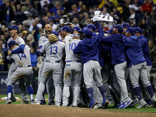 Dodgers head to World Series